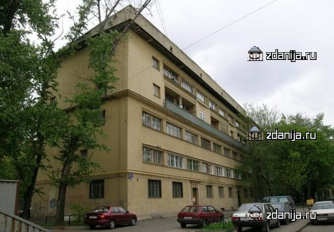 Москва, 1-й Самотечный переулок, дом 17А, Дом ЖУРГАЗа (ЦАО, район Тверской)