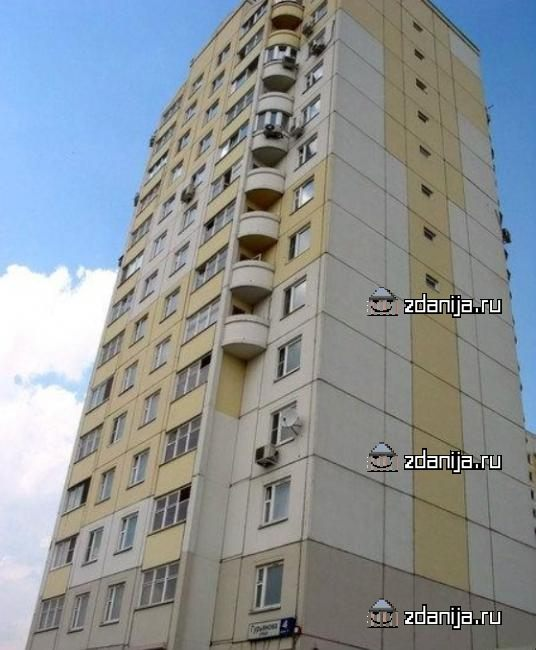 Москва, улица Гурьянова, дом 4, корпус 2, Серия П111М (ЮВАО, район Печатники)
