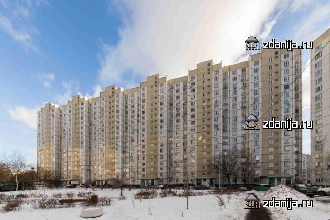 Москва, улица Гурьянова, дом 69, корпус 1, Серия П-44 (ЮВАО, район Печатники)