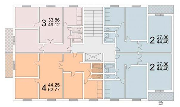Продажа 3-x комнатной квартиры Площадью 680 квм