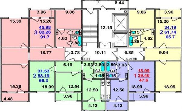 Дома серии РД-17.04