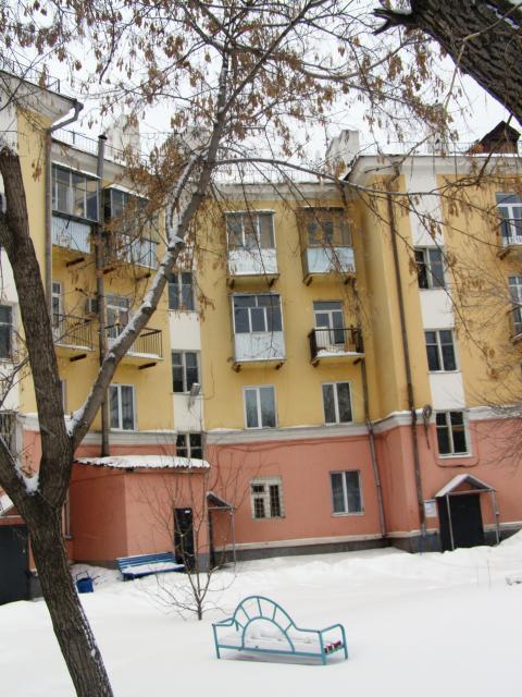 фасад со двора