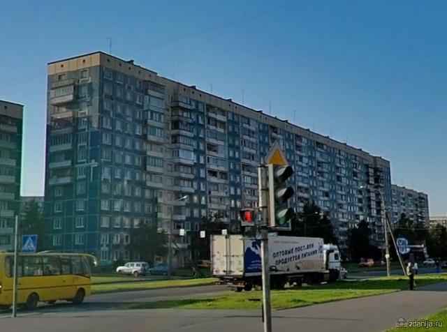 дом серии 1Лг-504Д и планировки квартир