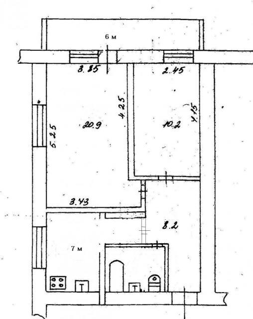 серия домов 1У-438А-38, планировки квартир ( отр. адм. ) Помогите определить серию