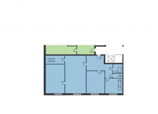 Планировка квартиры в доме серии II-49Д
