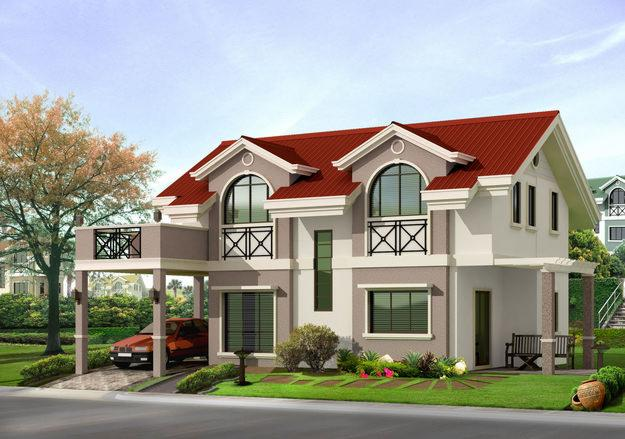 Пример готового проекта дома 1