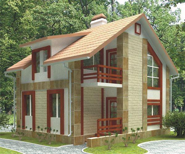 Пример готового проекта дома 2