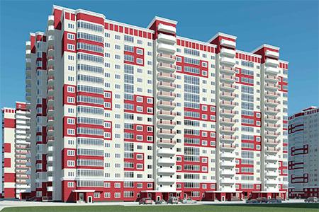 Серия Град 1-М, планировки квартир