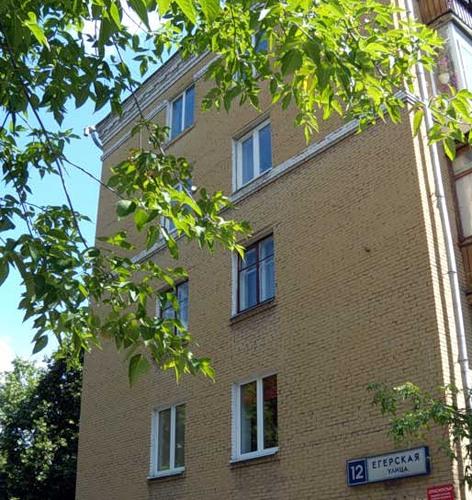 Москва, Егерская улица, дом 12, Серия II-14 (ВАО, район Сокольники)