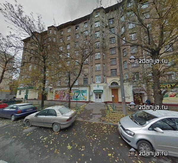 Москва, 2-я улица Марьиной Рощи, дом 10/14, Серия II-08 (СВАО, район Марьина Роща)