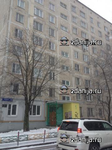 Москва, Берингов проезд, дом 4, Серия I-515 (СВАО, район Свиблово)
