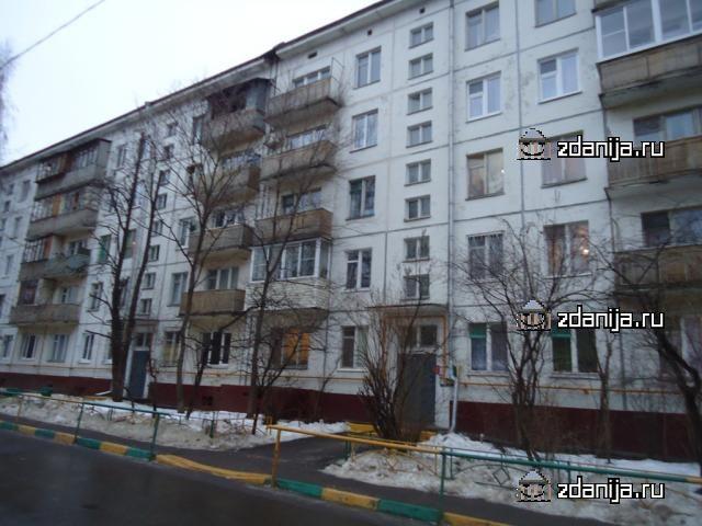 Москва, улица Вострухина, дом 3 (ЮВАО, район Рязанский)