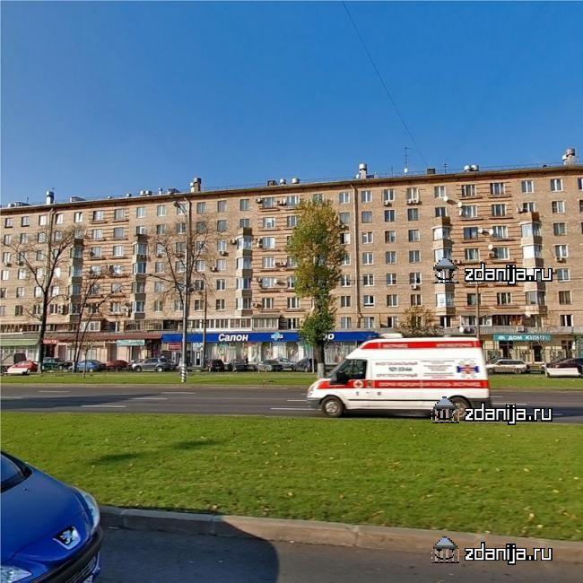 Москва, Ленинский проспект, дом 86 (ЮЗАО, район Ломоносовский)