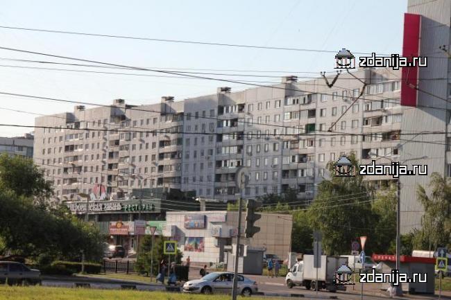 Москва, Строгинский бульвар, дом 17, корпус 1, Серия П-30 (СЗАО, район Строгино)