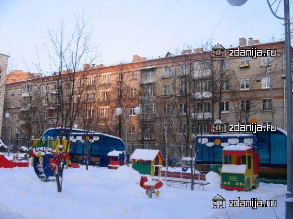 Москва, Тепличный переулок, дом 10, Серия II-14 (СЗАО, район Щукино)