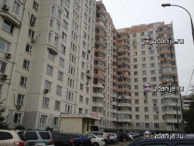 Москва, Сколковское шоссе, дом 13, Серия п3м (ЗАО, район Можайский)
