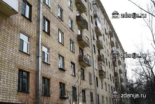 Москва, улица Крупской, дом 4, корпус 3, Серия II-08 (ЮЗАО, район Ломоносовский)