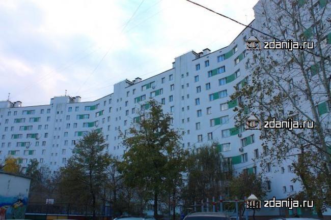 Москва, Краснодарская улица, дом 60, Серия I605-АМ (ЮВАО, район Люблино)