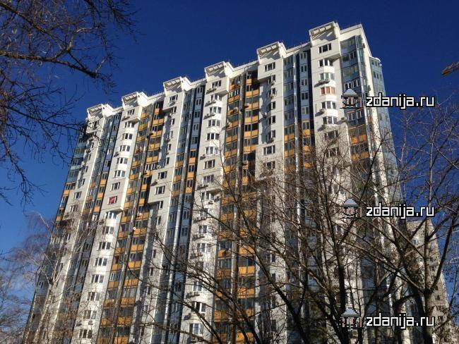 Москва, Кастанаевская улица, дом 45, корпус 2, Серия И-155 (ЗАО, район Фили-Давыдково)