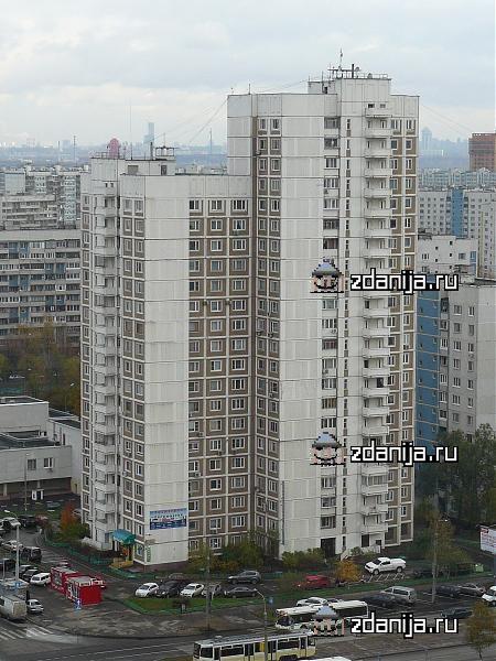 Москва, Строгинский бульвар, дом 2, корпус 1, Серия КОПЭ (СЗАО, район Строгино)