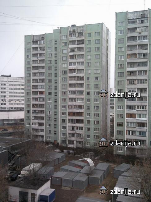 Москва, улица Героев Панфиловцев, дом 7, корпус 1, Серия П-43 (СЗАО, район Северное Тушино)