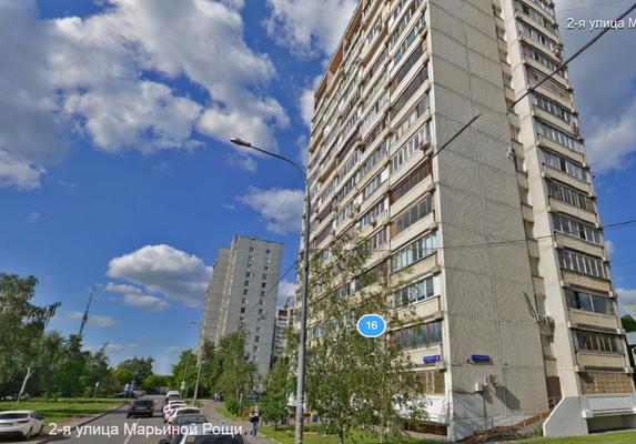 Москва, 2-я улица Марьиной Рощи, дом 16, Серия II-68 (СВАО, район Марьина Роща)