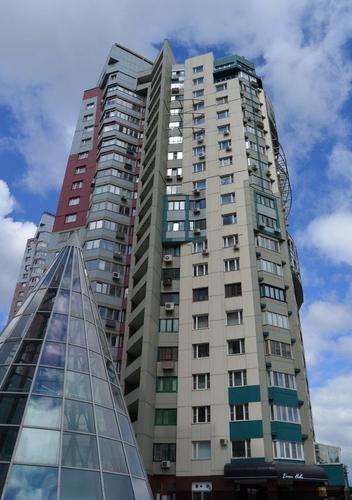 Москва, улица Коштоянца, дом 20, корпус 3 (под. 1) (ЗАО, район Тропарево-Никулино)