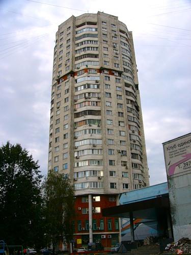 Москва, Каширское шоссе, дом 144, корпус 1, Серия И-1279 (ЮАО, район Орехово-Борисово Южное)
