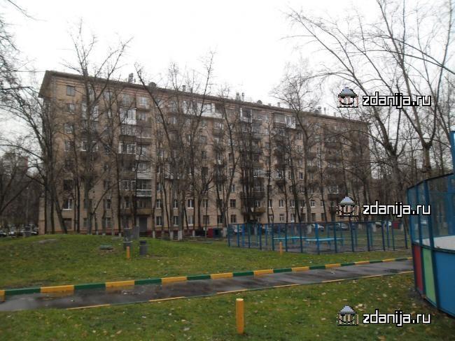 Москва, улица Строителей, дом 7, корпус 2, Серия II-08 (ЮЗАО, район Ломоносовский)