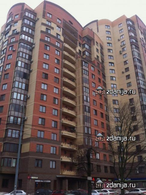 Москва, улица Удальцова, дом 65 (ЗАО, район Проспект Вернадского)