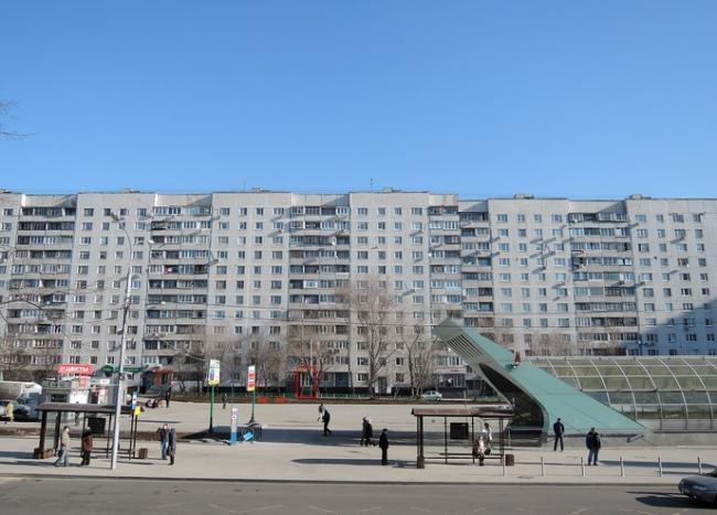 Москва, Строгинский бульвар, дом 7, корпус 1, Серия П-30 (СЗАО, район Строгино)