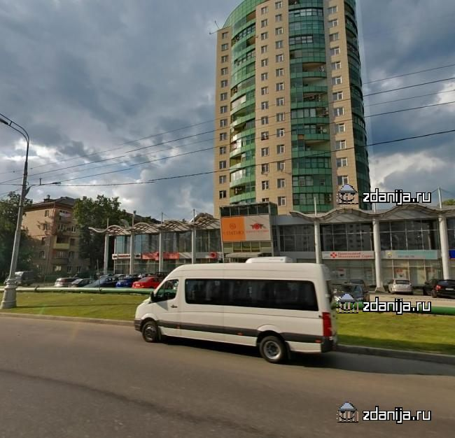 Москва, проспект Маршала Жукова, дом 38, корпус 1 (СЗАО, район Хорошево-Мневники)