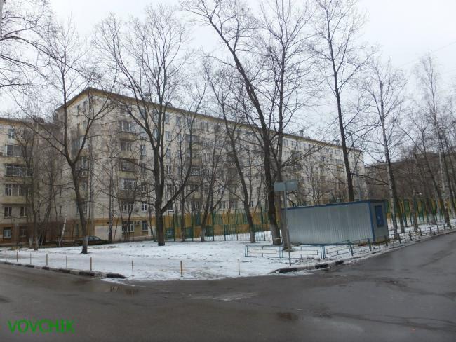 Москва, Молодежная улица, дом 6, СерияII-04 (ЮЗАО, район Гагаринский)