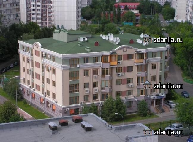 Москва, Строгинский бульвар, дом 10, корпус 3 (СЗАО, район Строгино)