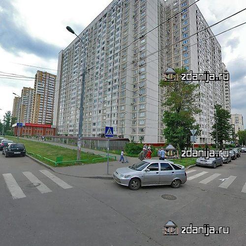 Москва, улица Герасима Курина, дом 16, Серия КОПЭ (ЗАО, район Фили-Давыдково)