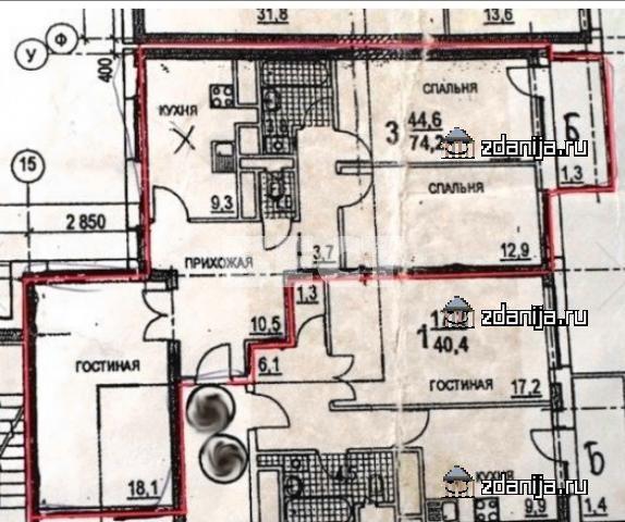 Москва, улица Удальцова, дом 17, корпус 2 (ЗАО, район Проспект Вернадского)