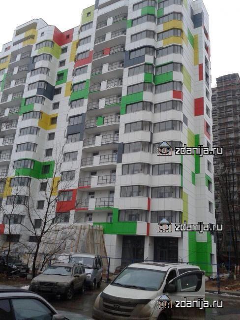 Москва, проспект Вернадского, дом 44, корпус 2 (ЗАО, район Проспект Вернадского)