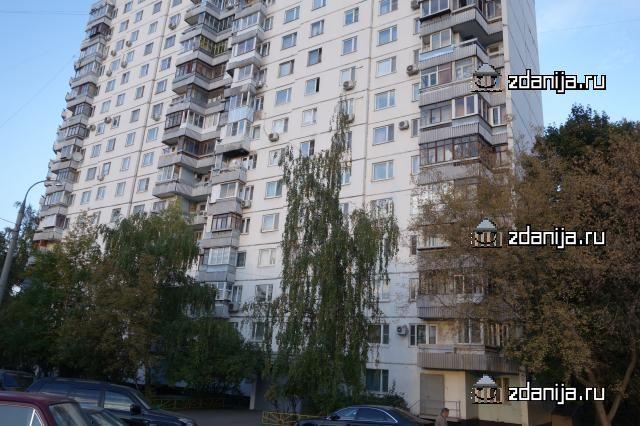 Москва, улица Удальцова, дом 89, корпус 2, Серия - П-3/16 (ЗАО, район Раменки)