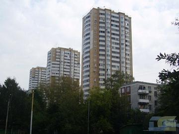 Москва, улица Герасима Курина, дом 18, Серия И-155 (ЗАО, район Фили-Давыдково)
