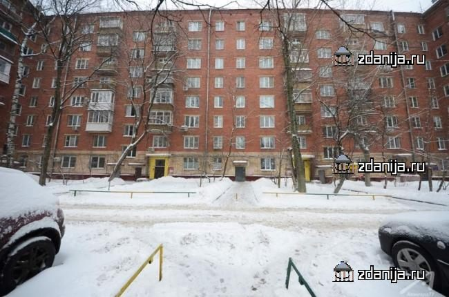 Москва, улица Крупской, дом 5 (ЮЗАО, район Ломоносовский)
