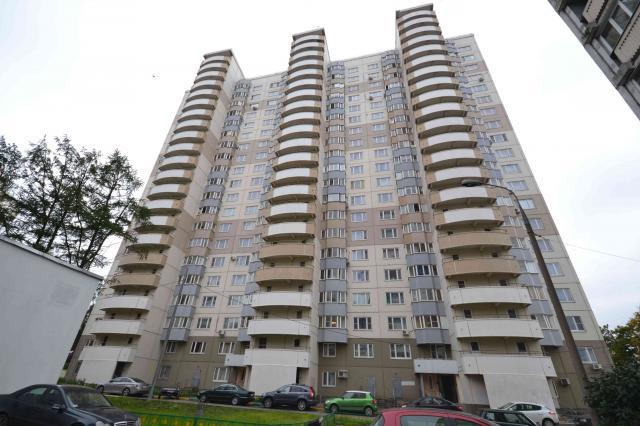 Москва, Кастанаевская улица, дом 45, корпус 1, Серия И-155 (ЗАО, район Фили-Давыдково)