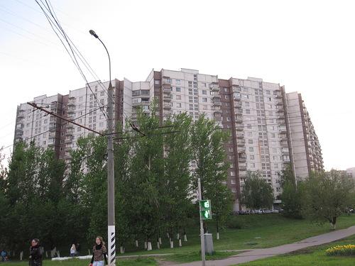 Москва, Новоясеневский проспект, дом 16, корпус 1, Серия - П-3 (ЮЗАО, район Ясенево)