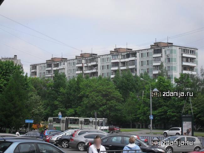 Москва, улица Теплый Стан, дом 6, Серия: II-49Д (ЮЗАО, район Теплый Стан)