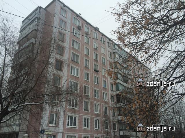 Москва, улица Рокотова, дом 8, корпус 5, Серия: II-49Д (ЮЗАО, район Ясенево)
