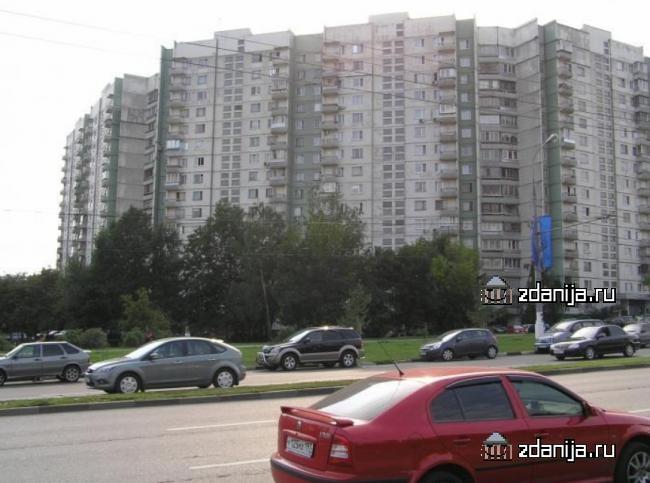 Москва, Новоясеневский проспект, дом 22, корпус 1, Серия - П-3 (ЮЗАО, район Ясенево)