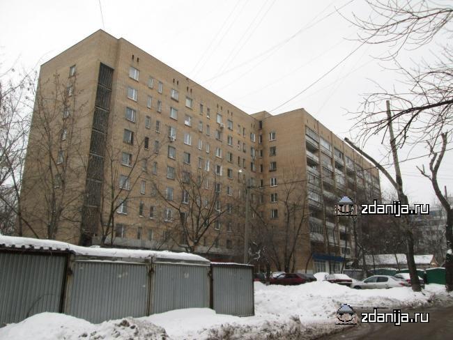 Москва, Ослябинский переулок, дом 3 (ЮАО, район Даниловский)