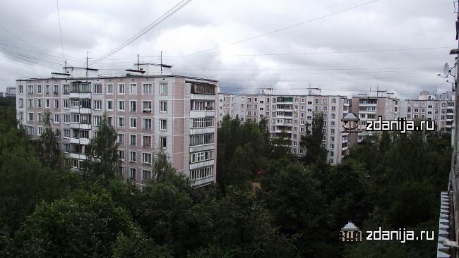 Москва, проезд Карамзина, дом 1, корпус 1, Серия: II-49Д (ЮЗАО, район Ясенево)