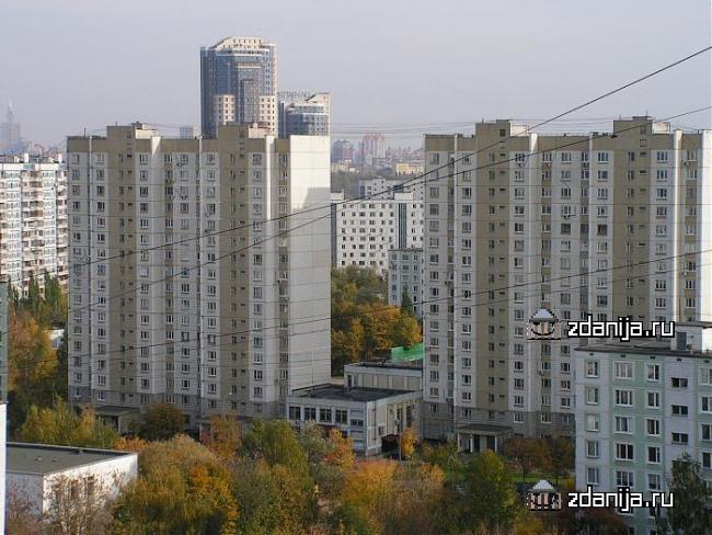 Москва, улица Маршала Катукова, дом 19, корпус 1, Серия П-44 (СЗАО, район Строгино)