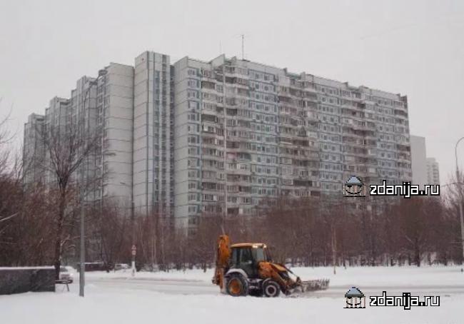 Москва, улица Мусы Джалиля, дом 5, корпус 1, Серия П-44 (ЮАО, район Зябликово)