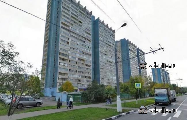 Москва, Ясногорская улица, дом 17, корпус 1, Серия II-68 (ЮЗАО, район Ясенево)